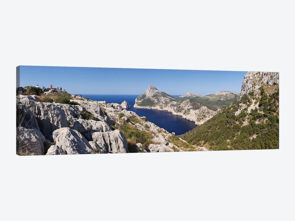 Cap de Formentor (Meeting Place Of The Winds) II, Majorca, Balearic Islands, Spain by Panoramic Images 1-piece Canvas Wall Art