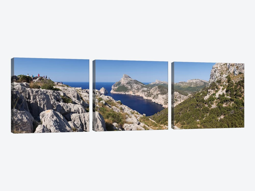 Cap de Formentor (Meeting Place Of The Winds) II, Majorca, Balearic Islands, Spain by Panoramic Images 3-piece Canvas Artwork