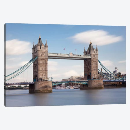 Tower Bridge I, London, England, United Kingdom Canvas Print #PIM13994} by Panoramic Images Canvas Print