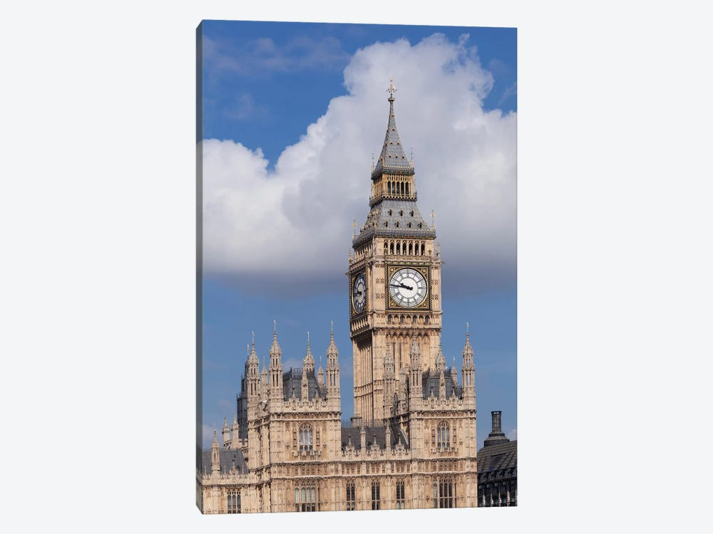 Big Ben, Palace of Westminster, City Of Westminster, London, England by Panoramic Images 1-piece Canvas Art