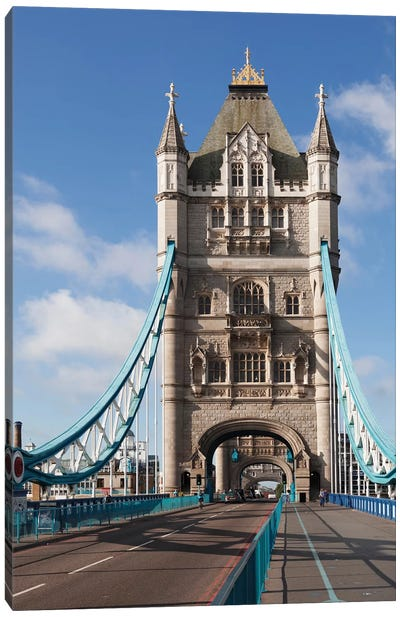 Tower Bridge II, London, England, United Kingdom Canvas Print #PIM13998