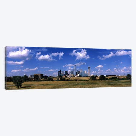Skyline Dallas TX USA Canvas Print #PIM1400} by Panoramic Images Canvas Print