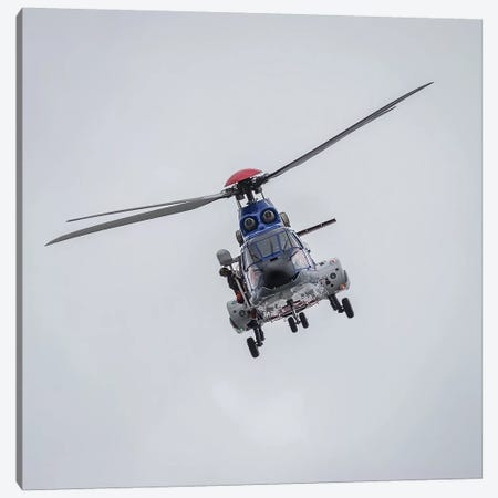 Icelandic Coast Guard TF-LIF Aerospatiale AS-332L1 Super Puma Helicopter, Reykjavik, Iceland Canvas Print #PIM14017} by Panoramic Images Canvas Print