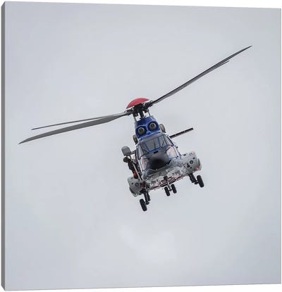 Icelandic Coast Guard TF-LIF Aerospatiale AS-332L1 Super Puma Helicopter, Reykjavik, Iceland Canvas Art Print