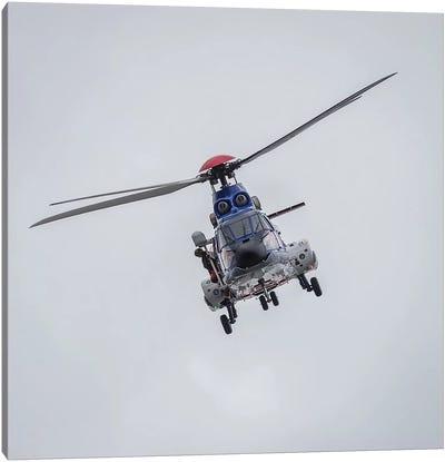 Icelandic Coast Guard TF-LIF Aerospatiale AS-332L1 Super Puma Helicopter, Reykjavik, Iceland Canvas Art Print