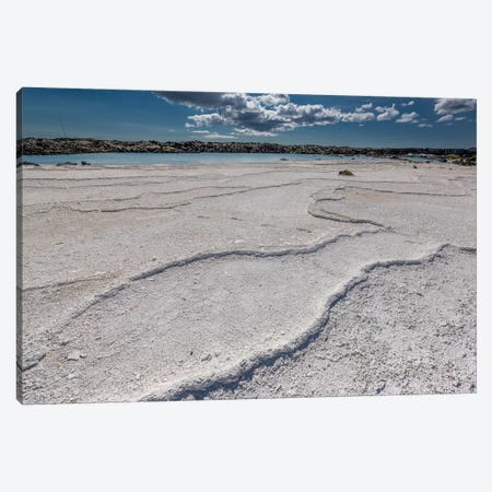 Silica Deposits II, Svartsengi Geothermal Power Station, Blue Lagoon Geothermal Spa, Grindavik, Sudurnes, Iceland Canvas Print #PIM14029} by Panoramic Images Canvas Print