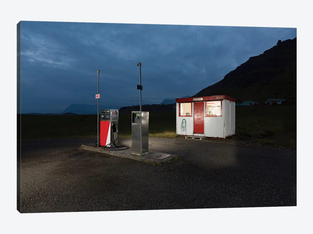 Countryside Gas Station, South Coast, Iceland by Panoramic Images 1-piece Art Print
