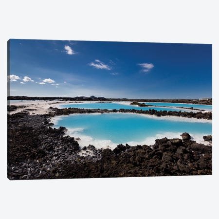 Silica Deposits IV, Svartsengi Geothermal Power Station, Blue Lagoon Geothermal Spa, Grindavik, Sudurnes, Iceland Canvas Print #PIM14036} by Panoramic Images Canvas Print