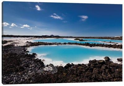 Silica Deposits IV, Svartsengi Geothermal Power Station, Blue Lagoon Geothermal Spa, Grindavik, Sudurnes, Iceland Canvas Print #PIM14036