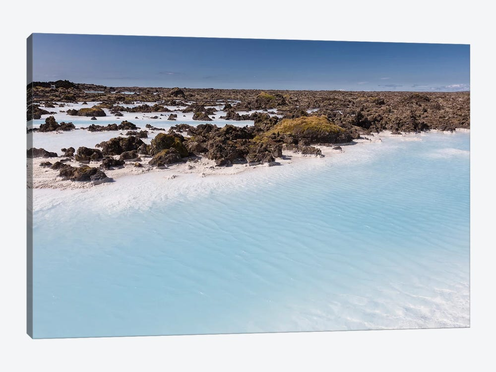 Silica Deposits V, Svartsengi Geothermal Power Station, Blue Lagoon Geothermal Spa, Grindavik, Sudurnes, Iceland by Panoramic Images 1-piece Canvas Art