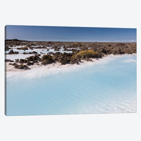 Silica Deposits V, Svartsengi Geothermal Power Station, Blue Lagoon Geothermal Spa, Grindavik, Sudurnes, Iceland Canvas Print #PIM14037} by Panoramic Images Art Print