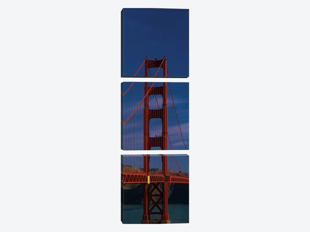 Golden Gate Bridge, San Francisco, California, USA by Panoramic Images 3-piece Canvas Artwork