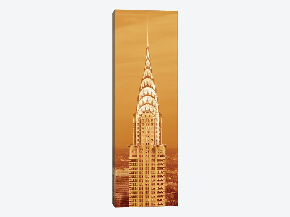 Chrysler Building At Sunset In Sepia, New York City, New York, USA by Panoramic Images 1-piece Art Print