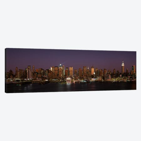 Skyline, Midtown, Manhattan, New York City, New York, USA Canvas Print #PIM14059} by Panoramic Images Canvas Artwork