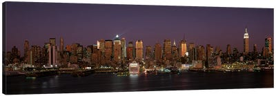 Skyline, Midtown, Manhattan, New York City, New York, USA Canvas Print #PIM14059