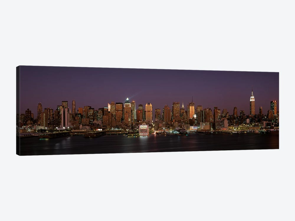 Skyline, Midtown, Manhattan, New York City, New York, USA by Panoramic Images 1-piece Canvas Wall Art
