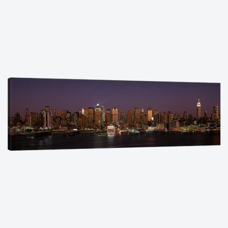 Skyline, Midtown, Manhattan, New York City, New York, USA Canvas Print #PIM14059} by Panoramic Images Canvas Artwork