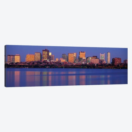 Downtown Skyline, Boston, Suffolk County, Massachusetts, USA Canvas Print #PIM14060} by Panoramic Images Canvas Print