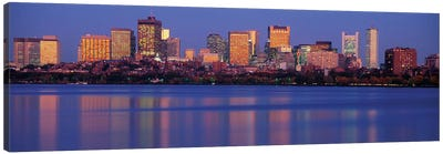 Downtown Skyline, Boston, Suffolk County, Massachusetts, USA Canvas Print #PIM14060