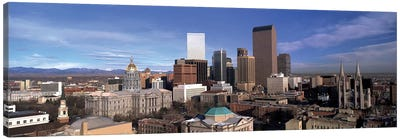 Downtown Skyline, Denver, Denver County, Colorado, USA Canvas Print #PIM14061