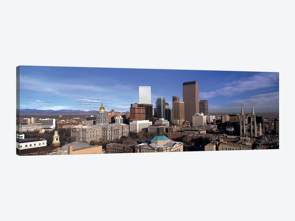 Downtown Skyline, Denver, Denver County, Colorado, USA by Panoramic Images 1-piece Canvas Print