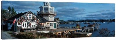 Harding Family Wharf, Bass Harbor, Hancock County, Maine, USA Canvas Print #PIM14062