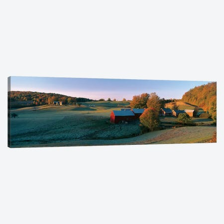 Countryside Landscape, Vermont Canvas Print #PIM14063} by Panoramic Images Art Print