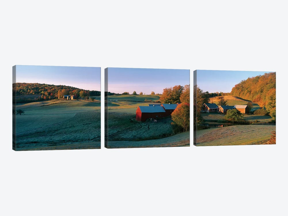 Countryside Landscape, Vermont by Panoramic Images 3-piece Art Print