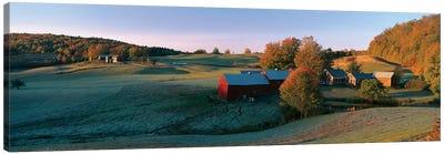 Countryside Landscape, Vermont Canvas Art Print