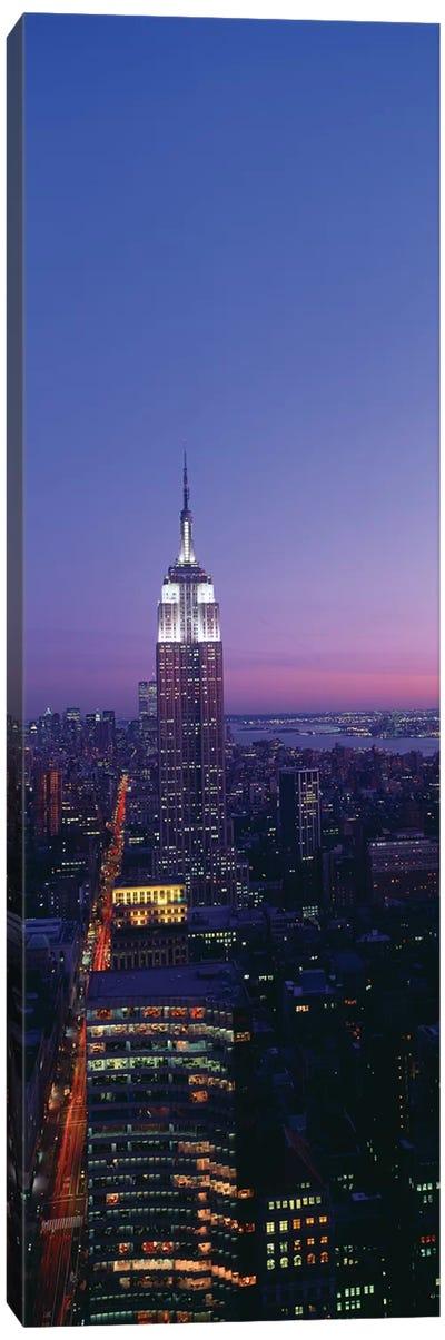 Empire State Building at Sunset, Manhattan, New York City, New York, USA Canvas Print #PIM14068