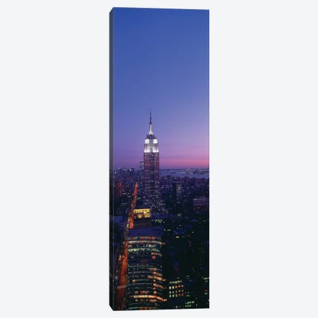 Empire State Building at Sunset, Manhattan, New York City, New York, USA Canvas Print #PIM14068} by Panoramic Images Art Print