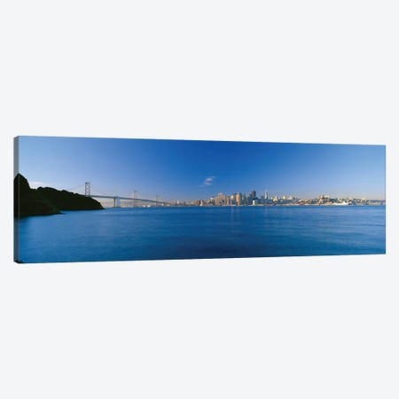 Downtown Skyline I, San Francisco, California Canvas Print #PIM14072} by Panoramic Images Canvas Wall Art