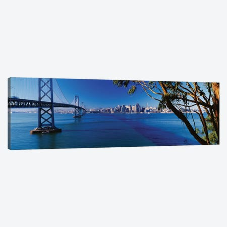 Downtown Skyline II, San Francisco, California Canvas Print #PIM14073} by Panoramic Images Canvas Artwork