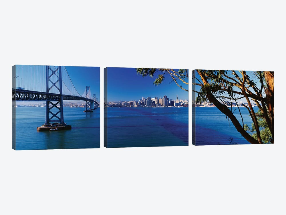 Downtown Skyline II, San Francisco, California 3-piece Canvas Art