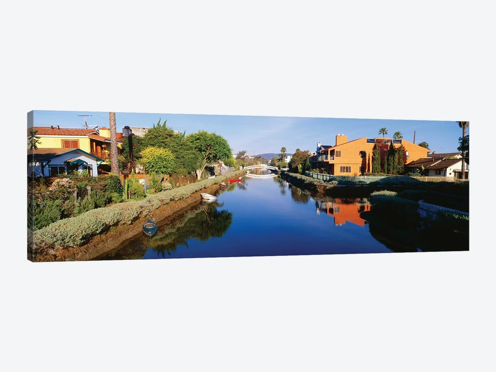 Venice Canal Historic District, Los Angeles, California by Panoramic Images 1-piece Canvas Art