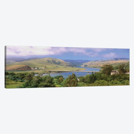 Countryside Landscape, Sonoma County, California, USA 3-Piece Canvas #PIM14077} by Panoramic Images Canvas Art Print