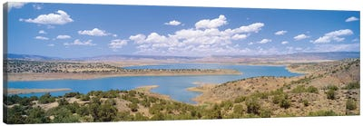 U.S. Army Corps of Engineers Abiquiu Lake Reservoir, Rio Arriba County, New Mexico, USA Canvas Art Print