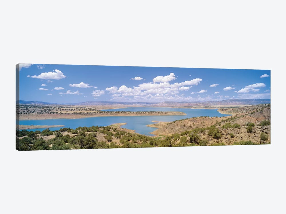 U.S. Army Corps of Engineers Abiquiu Lake Reservoir, Rio Arriba County, New Mexico, USA by Panoramic Images 1-piece Canvas Wall Art