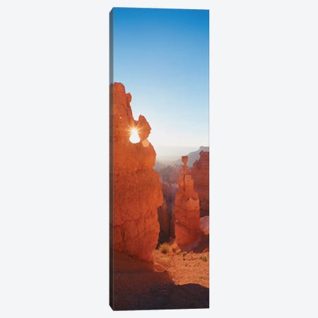 Hoodoos at Sunrise, Bryce Canyon National Park, Utah, USA Canvas Print #PIM14081} by Panoramic Images Art Print