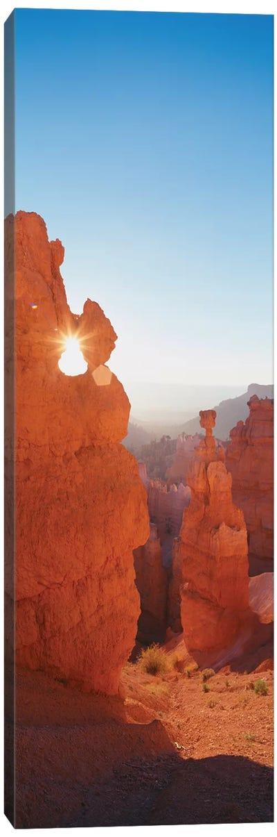 Hoodoos at Sunrise, Bryce Canyon National Park, Utah, USA Canvas Art Print