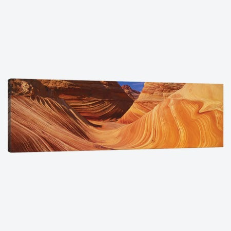 The Wave, Coyote Buttes, Paria Canyon-Vermilion Cliffs Wilderness, Coconino County, Arizona, USA Canvas Print #PIM14082} by Panoramic Images Art Print