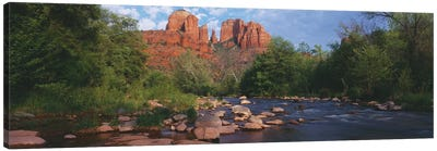 Cathedral Rock, Coconino National Forest, Sedona, Yavapai County, Arizona Canvas Art Print