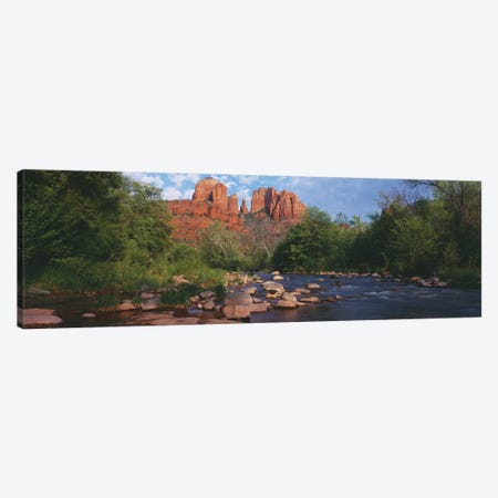 Cathedral Rock, Coconino National Forest, Sedona, Yavapai County, Arizona Canvas Print #PIM14083} by Panoramic Images Art Print