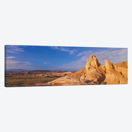 Landscape, Valley Of Fire State Park, Clark County, Nevada, USA Canvas Print #PIM14084} by Panoramic Images Canvas Art