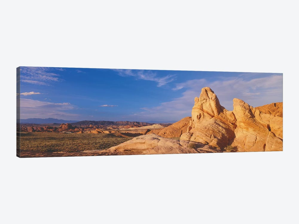 Landscape, Valley Of Fire State Park, Clark County, Nevada, USA by Panoramic Images 1-piece Canvas Artwork