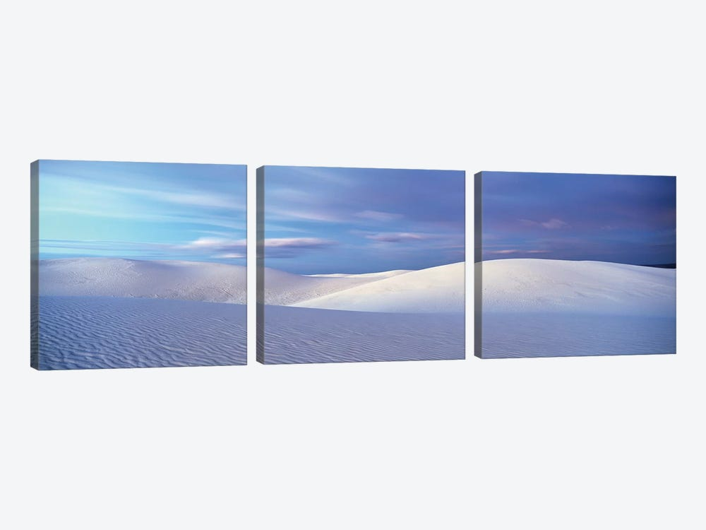 Landscape I, White Sands National Monument, New Mexico, USA by Panoramic Images 3-piece Canvas Print