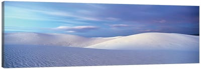 Landscape I, White Sands National Monument, New Mexico, USA Canvas Art Print