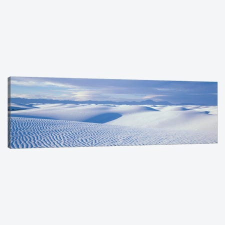 Landscape II, White Sands National Monument, New Mexico, USA Canvas Print #PIM14086} by Panoramic Images Canvas Wall Art