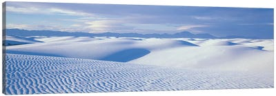 Landscape II, White Sands National Monument, New Mexico, USA Canvas Art Print