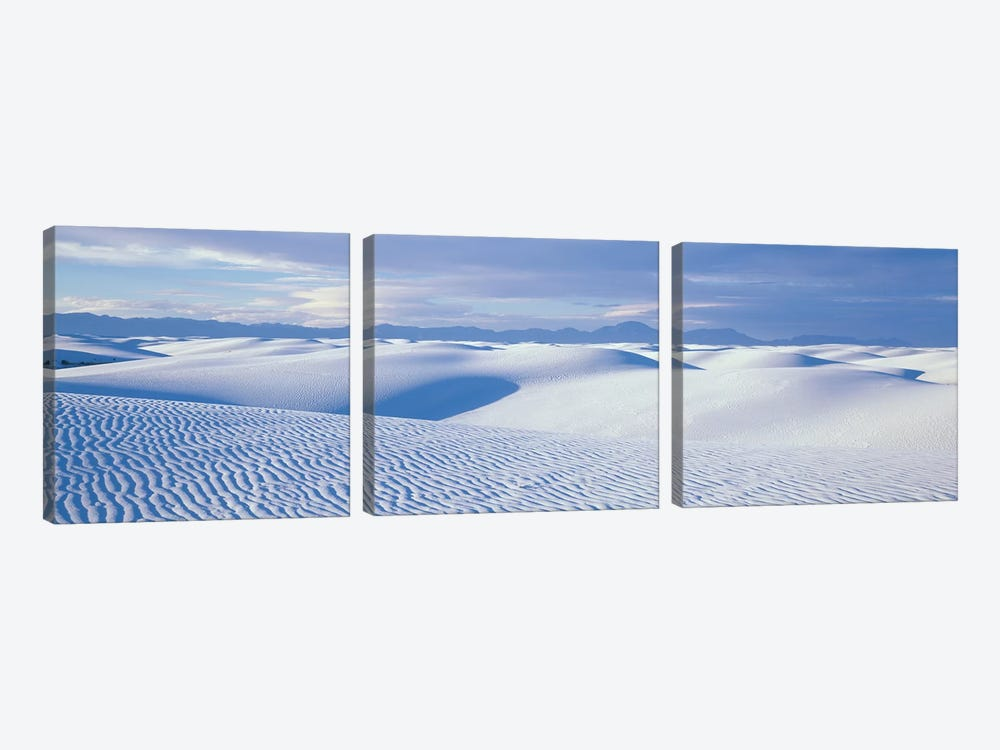 Landscape II, White Sands National Monument, New Mexico, USA by Panoramic Images 3-piece Canvas Wall Art